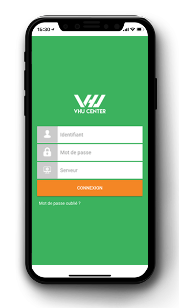 accueil application VHU